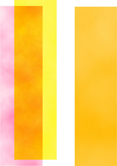 Mixed Optically On The Surface Of Canvas And Not Physically As A Together Orange Color Would Be If It Was Made From Pink Yellow
